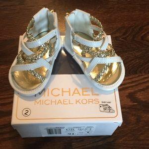Michael Kors Baby Amy Sandal